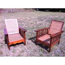 Paire de fauteuils coloniaux début XX eme